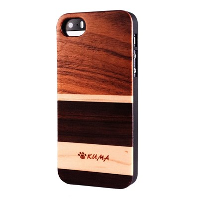 Kuma Mix - coque pour iphone 5c - marron