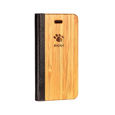 Kuma Galaxy s6 - coque - marron