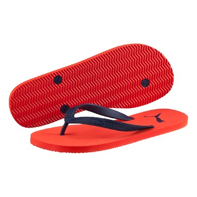 zapatillas Puma First Flip Chanclas naranja
