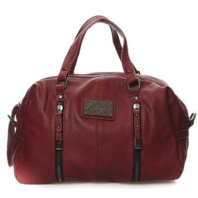 Sac polochon - rouge