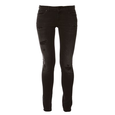 Loka - Jean slim - denim noir