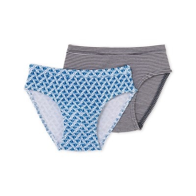 Lot de 2 slips - bleu