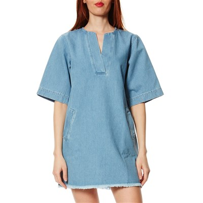Cleante - Robe en jean - denim bleu