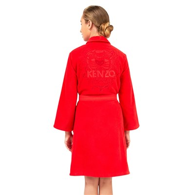 KZ Iconic - Peignoir - rouge