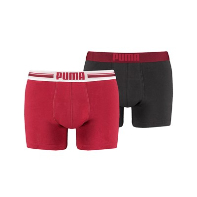 LACED LOGO - Lot de 2 boxers - rouge