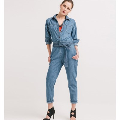 Combi-pantalon - denim bleu