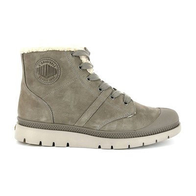 Plbric - Boots en cuir - taupe