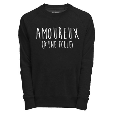 Saint Valentin - Sweat-shirt - noir