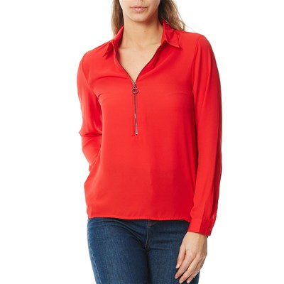 Blouse - rouge