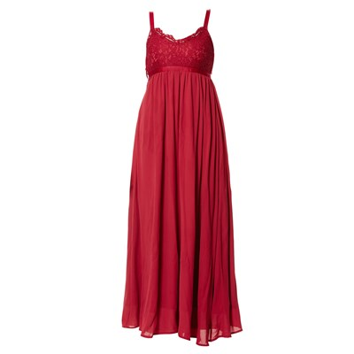 Robe maxi - bordeaux