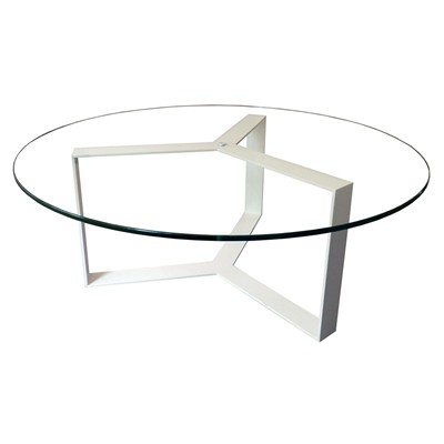 Alex de rouvray séverin - table basse - blanc