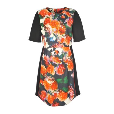 Cameriste - Robe droite - orange