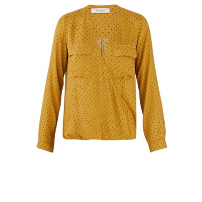 Blouse - ocre