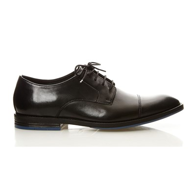 Prangley Cap - Derbies en cuir - noir