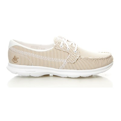GO STEP - Chaussures bateau - taupe