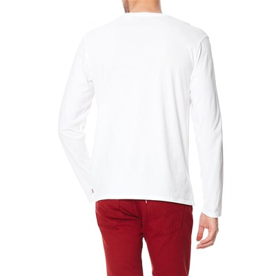 LS Graphic Setin - T-shirt - blanc