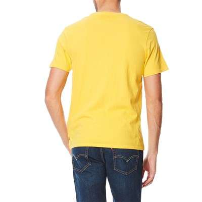Graphic Setin Neck - T-shirt - jaune poussin