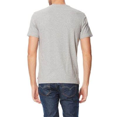Graphic Setin Neck - T-shirt - gris clair