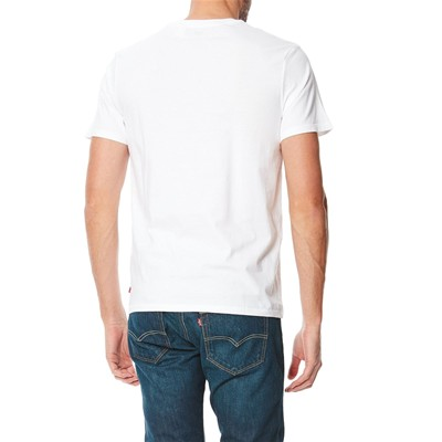 Graphic Setin Neck - T-shirt - blanc