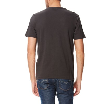 Graphic Setin Neck - T-shirt - noir
