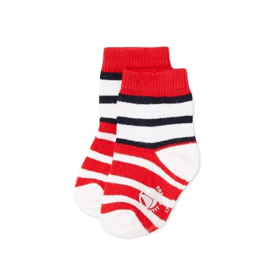 Chaussettes - rouge