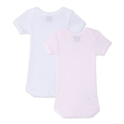 Lot de 2 bodies - rose