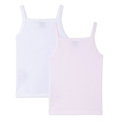Lot de 2 chemises à bretelles - rose