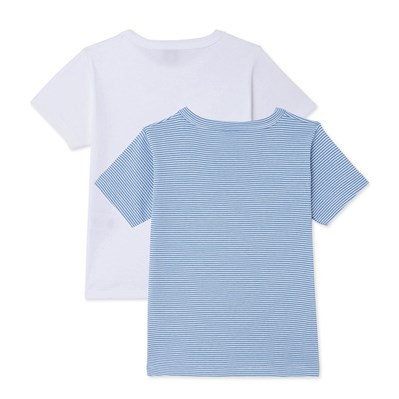 Lot de 2 t-shirts - bleu