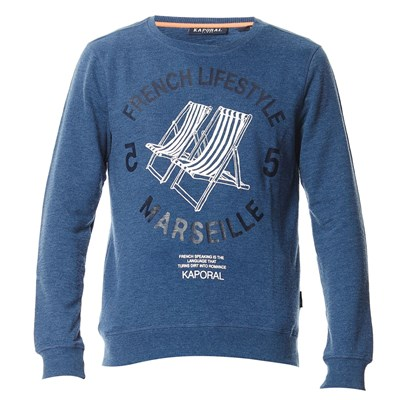 capute17 - Sweat-shirt - bleu