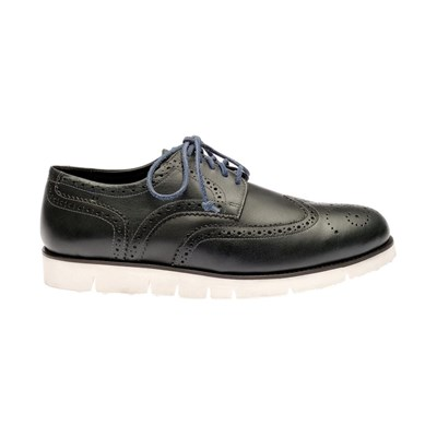 Brogue - Derbies en cuir - noir