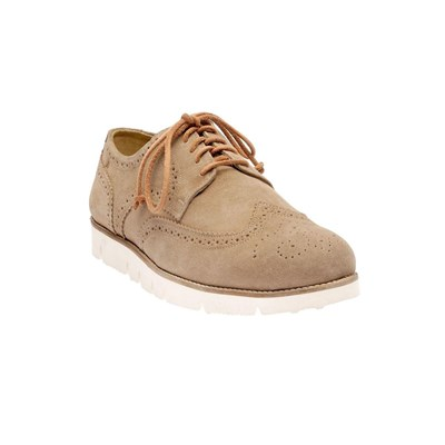 Brogue - Derbies en cuir - beige