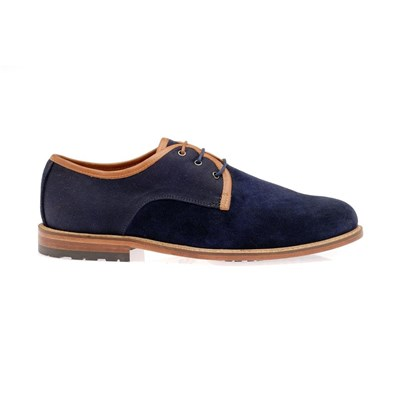 Mojo - Derbies en cuir - bleu
