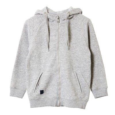 Mabuko-J-S - Sweat à capuche - gris clair