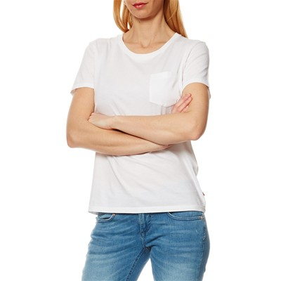 The Perfect Pocket Tee - T-shirt - blanc
