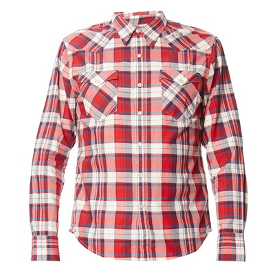 Barstow Western - Chemise - rouge