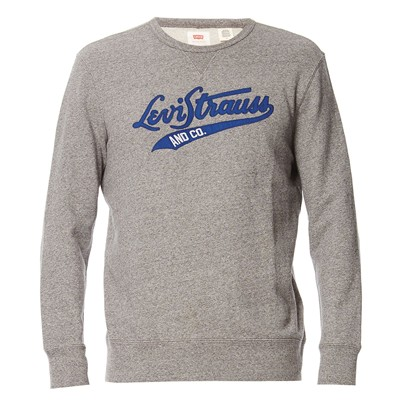 Graphic Crew B - Sweat-shirt - gris