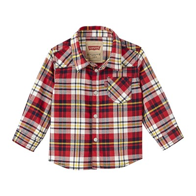 <strong>Levis</strong> kids cary chemise bucheron rouge