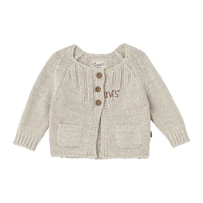 Tricy - Cardigan - avoine