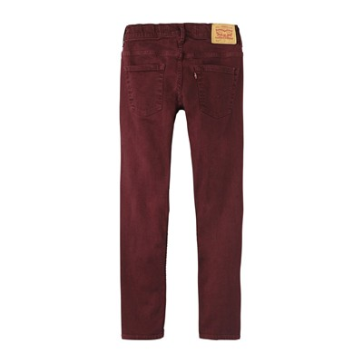 511 - Jean slim - bordeaux