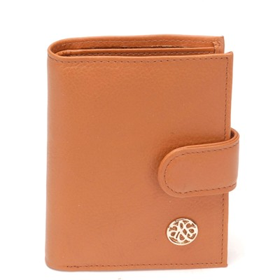 Arthur & aston porte carte en cuir - marron clair
