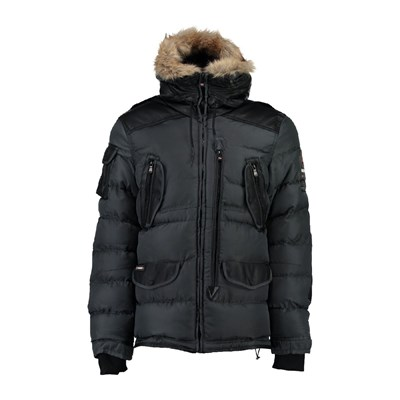 Geographical Norway buckleburry - parka - gris foncé