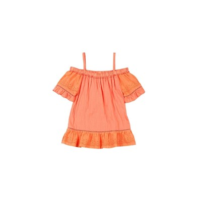 Camille - Blouse/tunique/chemisier - orange