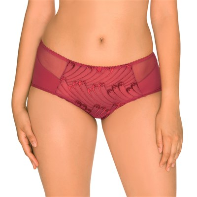 SANS COMPLEXE Shorty Narcisse carmin