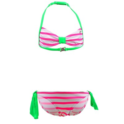 Banana Moon redpink looped - maillot 2 pièces - multicolore