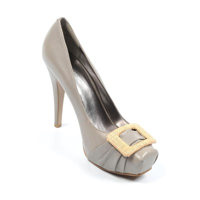 zapatillas Nine West Hardcandy Zapatos de tac?n gris