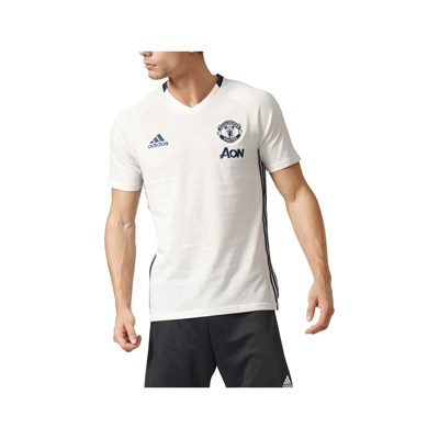 Adidas Performance manchester united - t-shirt de football - blanc