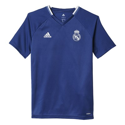 Real de Madrid - T-Shirt de football - bleu