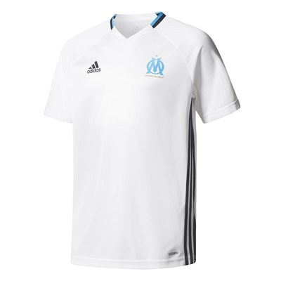Adidas Performance olympe de marseille - t-shirt de football - blanc