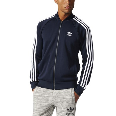 Adidas Originals sweat-Shirt - bleu marine