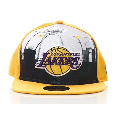 59Fifty Lakers - Casquette - jaune